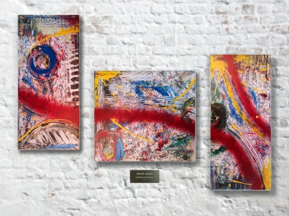 "Art Exhibition ""Pursuit of Existence"" by Ishrat Jahan"